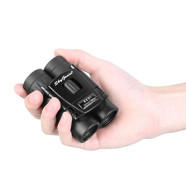 Compact Travel Binoculars