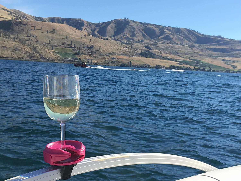 Outdoor Wine Glass Holder by Bella D'Vine