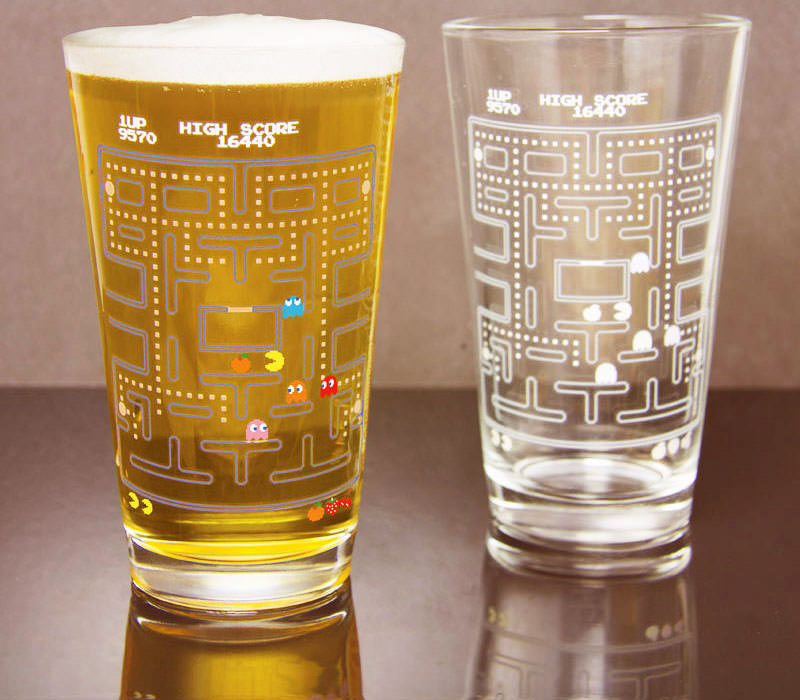 Pacman Cold Change Paint Glass