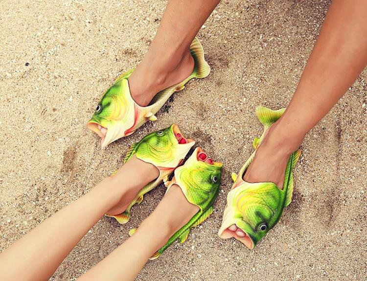 Realistic Fish Non-Slip Sandals