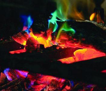 Rutland 715 Rainbow Flame Crystal
