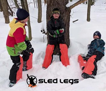 Wearable Sled Legs