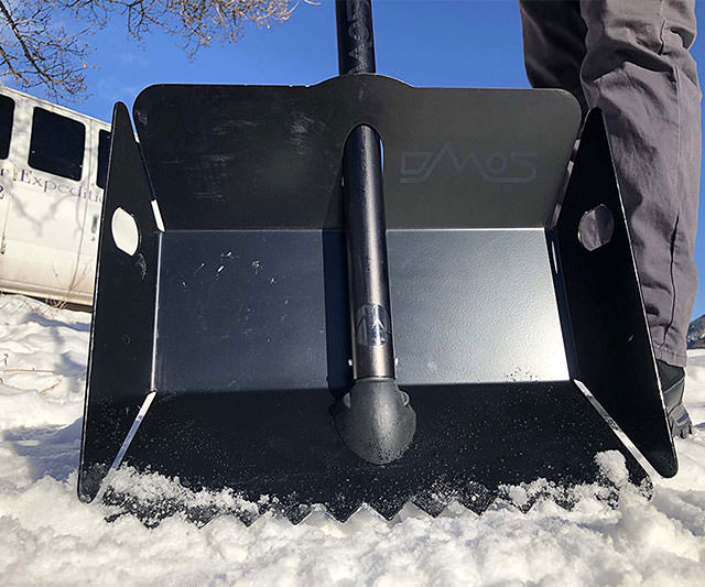 Alpha 2 Shovel For The Tough Stuff