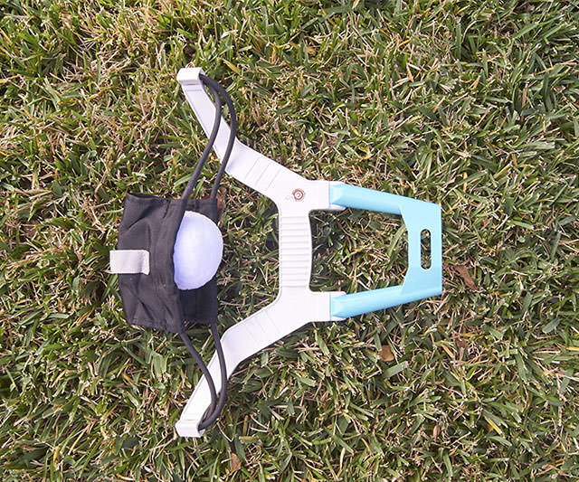 Snow Ball Launcher Grass