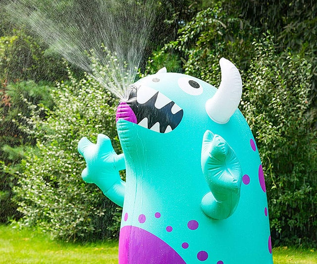 Ginormous Inflatable Cute Monster Yard Summer Sprinkler Perfect for Summer Fun