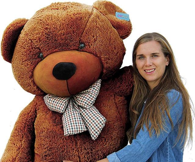 "Joyfay 78"" Giant Teddy Bear Dark Brown Valentines Gift"