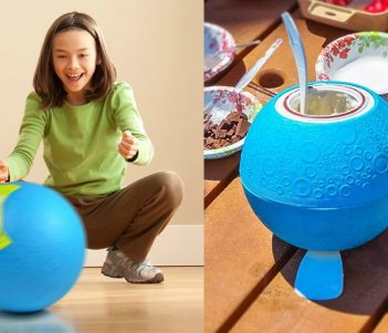 Yaylabs Softshell Ice Cream Ball, Makes Ice Cream By Just Playing With It