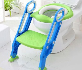 Toilet Trainer Seat Chair With Steps