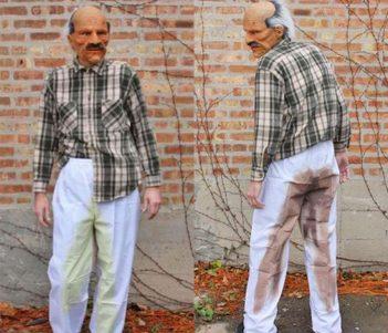 Funny Pee & Poo Pants Costume For Halloween