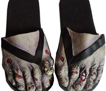 Loftus International Adult Latex Zombie FEET Costume Sandals