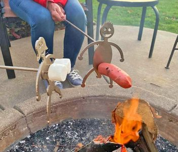 Hilarious Hot Dog & Marshmallow Roasting Sticks