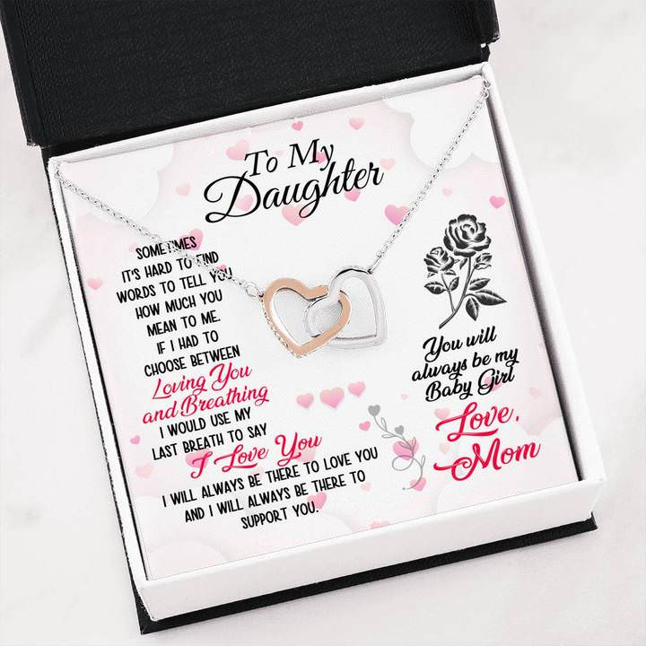 To My Daughter Loving You and Breathing From Mom